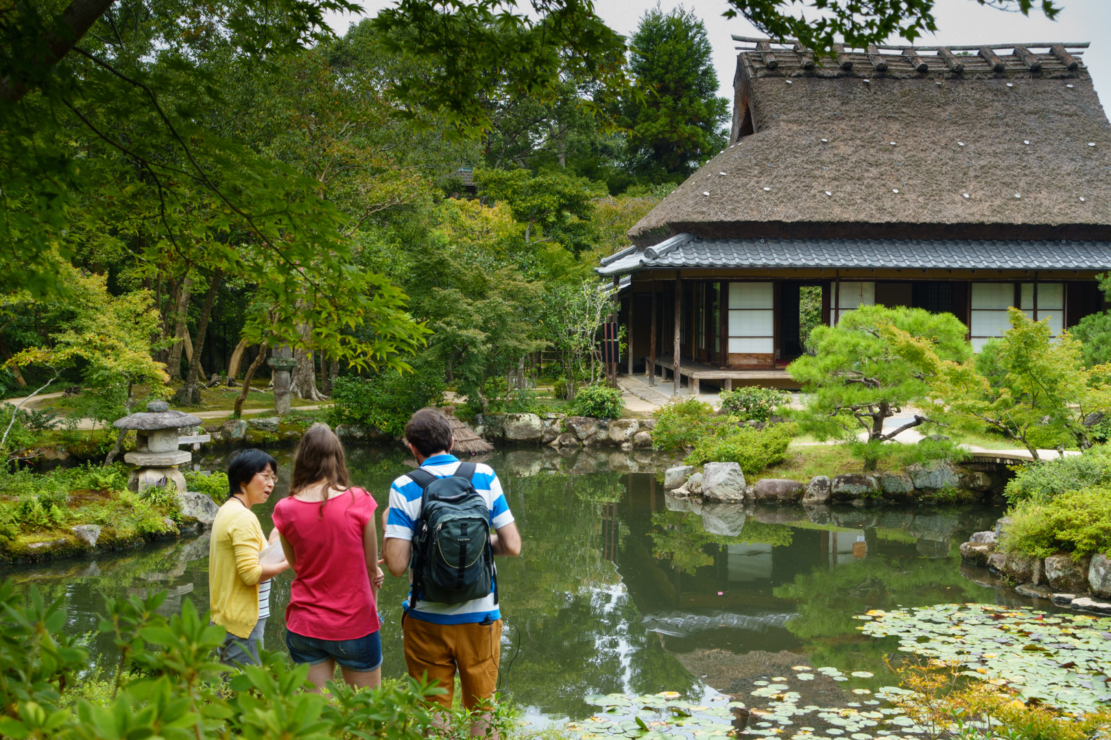 Spot Guide at Isuien Japanese Garden
